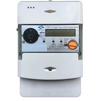 Single-phase STS Smart Prepayment Energy Meter